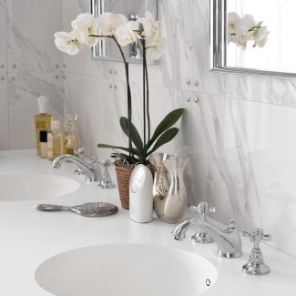 Vanité de salle de bain en Corian®
